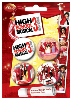 HSM3 - Graduation Badge Pack